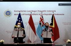 Solidaritas di Masa Pandemi, Indonesia Beri Bantuan kepada Dua Negara Pasifik Ini - JPNN.com