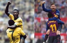 Messi Samai Rekor Pele, Barcelona Gagal Taklukkan Valencia - JPNN.com
