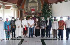 Komentar Bamsoet Saat Berkunjung ke Pusat Peribadatan Puja Mandala Bali - JPNN.com
