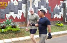 Lihat, Kasad Andika Perkasa Berolahraga Bareng Jenderal Militer AS - JPNN.com