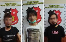 Ditolong Polisi Karena Jatuh dari Motor, 3 Pria Ini Malah Ditangkap, oh Ternyata Ketahuan - JPNN.com