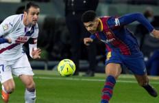 Tanpa Messi, Barcelona Ditahan Tim Papan Bawah di Camp Nou - JPNN.com
