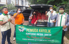 Pemuda Katolik Komda Banten Bantu Warga Terdampak Covid-19 - JPNN.com