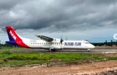 Pesawat ATR itu Mendarat Mulus di Bandara Blora yang Sempat Mangkrak 34 Tahun - JPNN.com