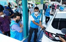Erick Thohir: Indonesia Bisa Jadi Pemain Utama Industri Mobil Listrik - JPNN.com