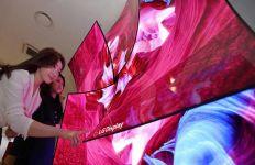 LG Siap Kenalkan TV 48 Inci yang Layarnya Bisa Ditekuk - JPNN.com
