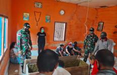 Kabar Duka, Bu Lusianatini Meninggal Dunia, Satgas Pamtas RI-Malaysia Berbelasungkawa - JPNN.com