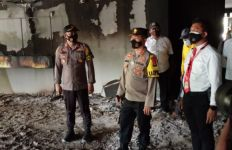 Kebakaran di Kantor Bupati Karimun, Kapolres: Masih Dalam Penyelidikan - JPNN.com