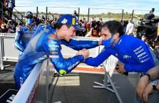 Di Tengah Kejayaan Suzuki di MotoGP, Davide Brivio Justru Pamit, Shinichi Patah Hati - JPNN.com
