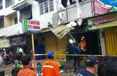 Kebakaran Rumah Toko di Jalan Urip, Tiga Orang Meninggal Dunia - JPNN.com