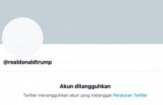 Tidak Mau Ambil Risiko, Twitter Blokir Akun Trump Selamanya - JPNN.com