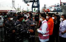 Pagi-pagi Menhub, Panglima TNI, Kabasarnas dan KSAL Berada di Pelabuhan JICT - JPNN.com
