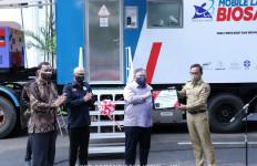 Kemenristek Hibahkan Mobile BSL-2 untuk Meningkatkan Pengujian Spesimen Covid-19 Kota Bogor - JPNN.com
