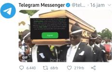 Heboh Kebijakan Baru WhatsApp, Telegram Sindir Lewat Meme Peti Mati - JPNN.com