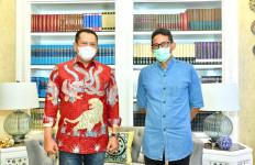 Bertemu Sandiaga, Bamsoet Ajak Kemenparekraf Kembangkan Sport Automotive Tourism - JPNN.com