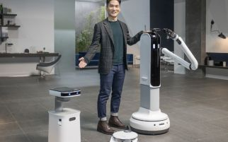 Samsung Pamerkan Robot-Robot Pintar Asisten Rumah Tangga