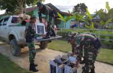 Patroli Pengendapan, Prajurit TNI Melihat Cahaya Mencurigakan, Oh Ternyata - JPNN.com
