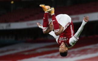 Lihat Selebrasi Aubameyang Usai Cetak Gol Buat Arsenal