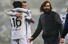 Lihat Nih, Ekspresi Andrea Pirlo Setelah Juve Taklukkan Napoli 2:0 - JPNN.com