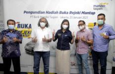 Banjir Hadiah, Mandiri Taspen Umumkan Pemenang Undian Buka Rejeki Mantap - JPNN.com