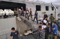 Kerja Cepat TNI AL Kirim APD ke Mamuju Menuai Apresiasi - JPNN.com