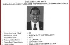 Inilah Sosok Ambroncius Nababan, Politikus Rasialis Penyebar Meme Pigai - JPNN.com