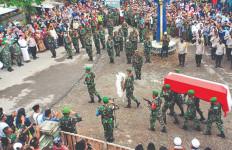 Kelapa Jatuh 5 Hari Sebelum Pratu Dedi Hamdani Gugur di Intan Jaya - JPNN.com