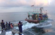 Lihat, Kapal Berbendera Malaysia Diburu Tim KKP di Selat Malaka, Menegangkan - JPNN.com
