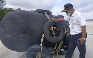 Pernyataan Terbaru TNI AL soal Temuan Bola Hitam di Bintan