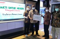Sharp Indonesia Salurkan Bantuan untuk Masyarakat Terdampak Bencana - JPNN.com