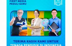 Link Net Gelar Program First Media Peduli Guru - JPNN.com