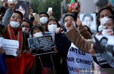 Lihat, WN Myanmar di Jepang Tegas Menolak Militer Berkuasa - JPNN.com