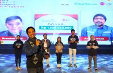 HDI Menyerahkan Donasi Rp 1,2 Miliar kepada BenihBaik.com - JPNN.com