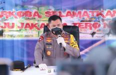 Irjen Fadil Bersama Pemprov DKI Jakarta Musnahkan Ratusan Kilogram Narkoba - JPNN.com