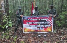 4 Prajurit Satgas Pamtas RI-Malaysia Yonif 642 Lakukan Ini, Membanggakan! - JPNN.com