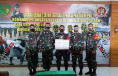 Giliran Pasukan Yonif Tombak Sakti dan Awang Long Amankan Perbatasan RI-PNG, Mohon Doanya - JPNN.com