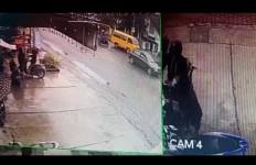 Aksi Orang Ini Terekam CCTV, Hanya Hitungan Detik, Mbak YL Langsung Lemas - JPNN.com