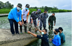 Galakkan Pelestarian Lingkungan, TNI AL Survei ke Taman Nasional Kepulauan Seribu - JPNN.com