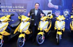 Ketum IMI Bamsoet Memperkenalkan Motor Kuning Listrik Bike Smart Harga Rp 10 Juta - JPNN.com