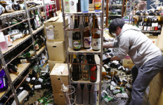 100 Orang Terluka Api Gempa Jepang, Kereta Cepat Berhenti Beroperasi - JPNN.com