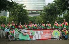 DKN Garda Bangsa Kick Off Gerakan Gowes AMI - JPNN.com