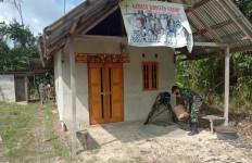Keren, Inilah Bukti Nyata Kedekatan Satgas TNI dan Warga di Perbatasan RI - Malaysia - JPNN.com