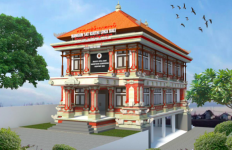 Waskita Karya Bangun Gedung Majelis Desa Adat di Kabupaten Klungkung Bali - JPNN.com