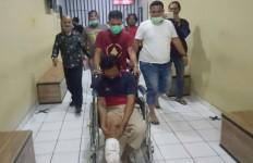 Penculik Anak di Palembang Ditangkap Polisi, Kakinya Langsung Didor, Nih Tampangnya - JPNN.com
