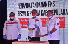BP2MI Teken Kerja Sama dengan Pemda Talaud dan PT Takumi Koba Indonesia - JPNN.com