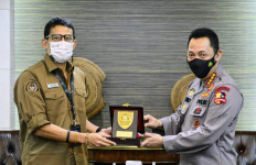 Bertatap Muka dengan Sandiaga, Jenderal Listyo Bahas Penguatan 5 Destinasi Superprioritas - JPNN.com