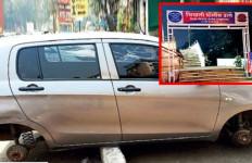 Mobil Diparkir Dekat Kantor Polisi, 4 Peleknya Hilang, Lihat Itu Penampakannya - JPNN.com