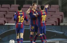 Messi Antarkan Barcelona Kembali ke Posisi Ketiga Klasemen - JPNN.com