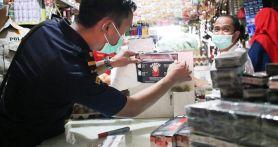 Tekan Peredaran Rokok Ilegal, Bea Cukai Gelar Operasi Pasar