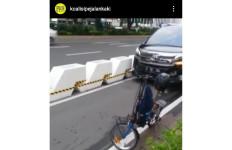 Mobil Mewah Masuk Jalur Sepeda Sudirman-Thamrin, Ada yang Protes - JPNN.com